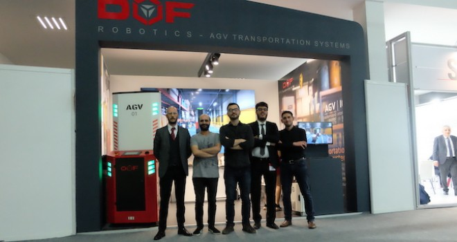 DOF AGV Logitrans'da tanıtıldı