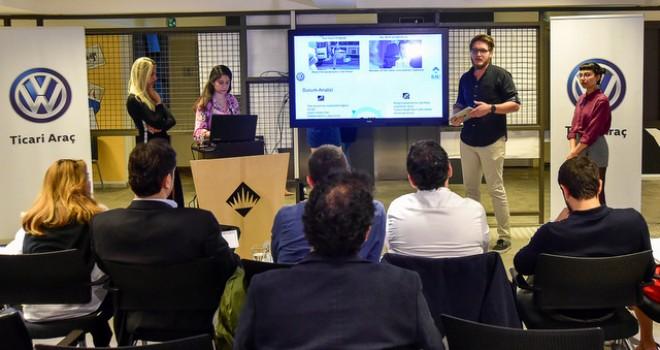 Yeni Volkswagen Crafter Bahçeşehir Üniversitesi öğrencilerinin mezuniyet  projesi oldu
