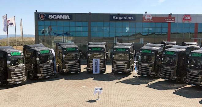 Çamsan Nakliyat'a 10 adet Scania