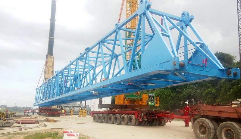 3 milyon dolarlık projenin 1000 tonluk konteyner vincinin montaj ve taşımasını yapacak!
