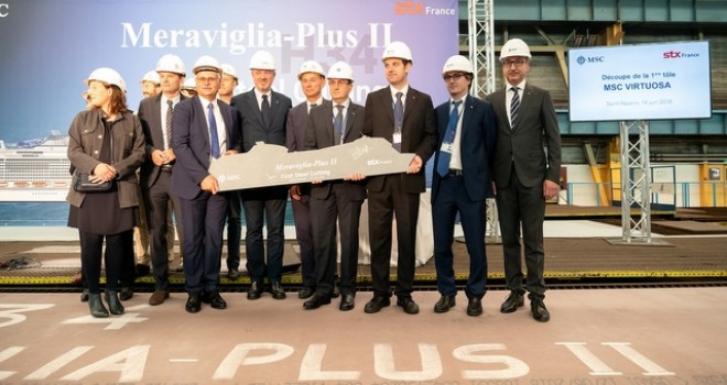 MSC Cruises 2026'ya kadar filosuna 13 yeni nesil gemi katacak