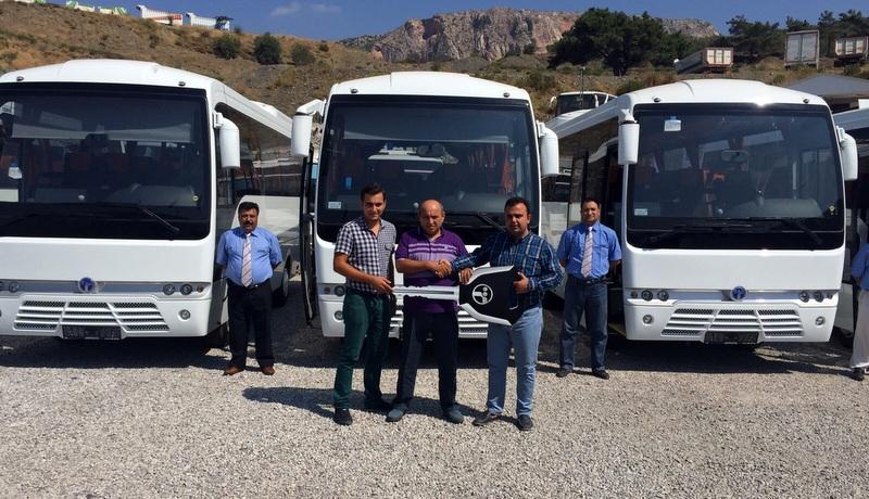İzmirli Doğukan Turizm'e 5 adet Prestij