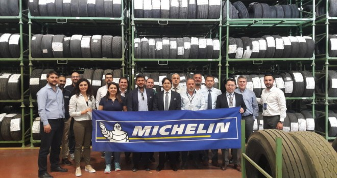 Michelin'den Omsan Lojistik ve BP çalışanlarına lastik eğitimi