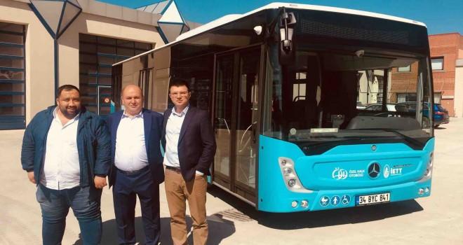 Mercedes-Benz Türk'ten 4 adet Conecto otobüs teslimatı