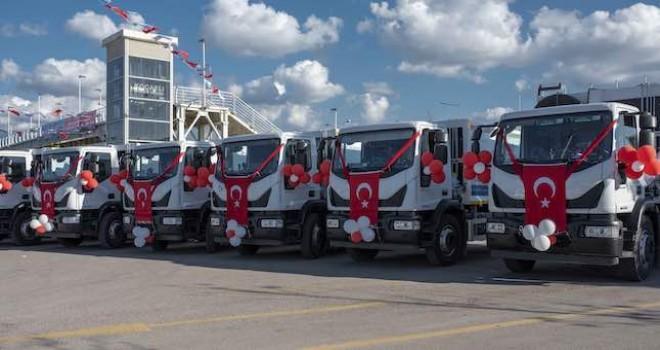 IVECO, İzmit Belediyesi'ne 58 adet araç teslim etti