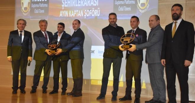 Ayın Kaptan Şoförü Ödülleri Sahiplerini Buldu