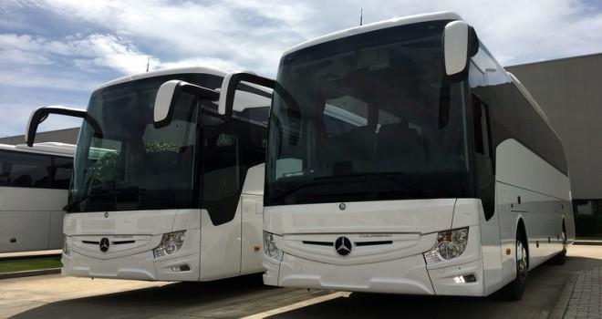3 firmaya 4 adet Tourismo teslim etti