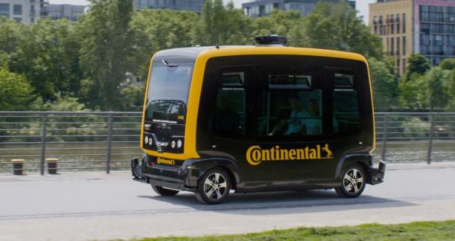 Eşya ve paket teslimatı kurye robot ve sürücüsüz araçlarla olacak