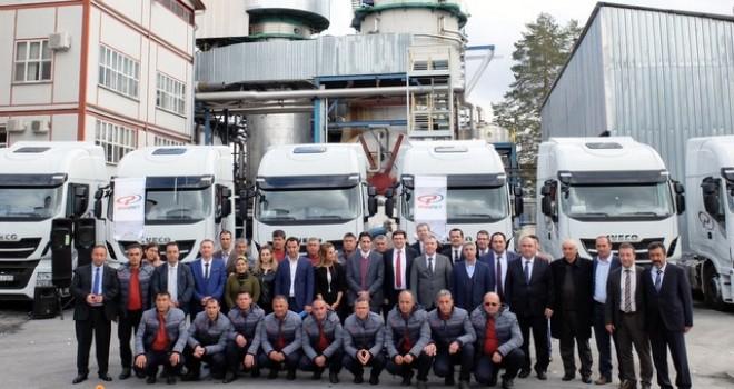 Iveco'dan Panpet Taşımacılık'a 14 adet Stralis