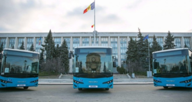 Moldova'ya 31 adet Isuzu Citiport teslim etti
