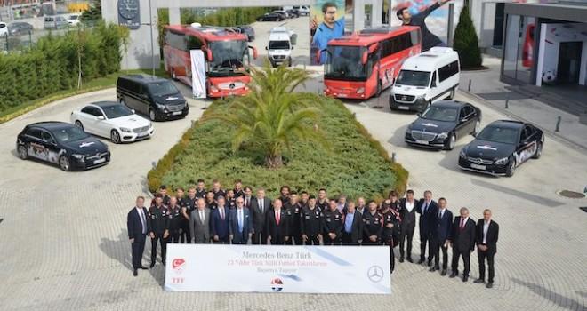 Mercedes-Benz Türk, Türkiye Futbol Federasyonu ile sözleşmesini 2023 yılına kadar uzattı