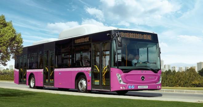 Mercedes-Benz Türk'ten CNG'li otobüsler için 1.3 milyon avroluk yatırım
