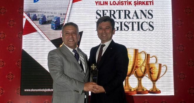 """Sertrans Logistics'e """"Yılın Lojistik Şirketi"""" ödülü"""