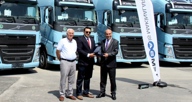 20 adet Volvo Trucks çekici aldı, filosundaki araç sayısını 100'e yükseltti