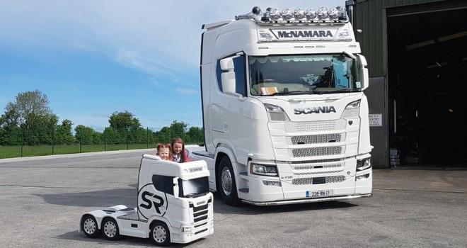 Çocuklar için tasarlanan Scania fenomen oldu