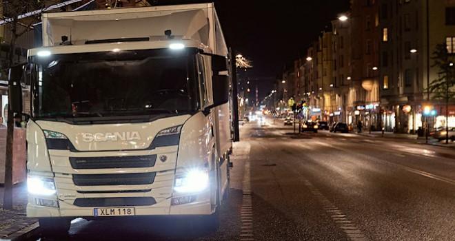 Scania'dan şehiriçi dağıtımda sıfır emisyonlu teslimat