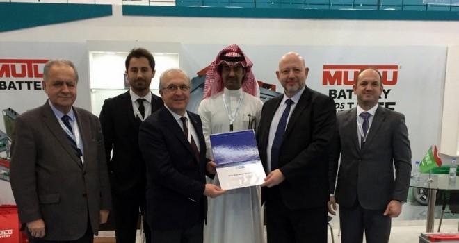 Mutlu Akü yeni teknolojilerini Suudi Arabistan'daki Automechanika Fuarı'nda tanıttı