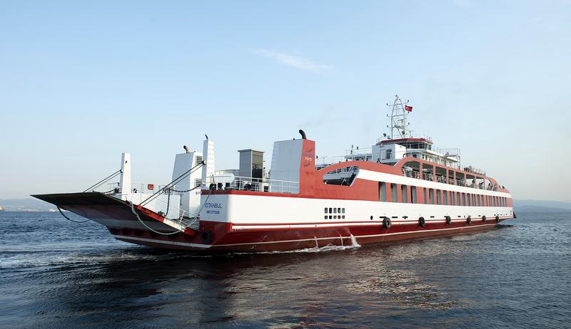 TIR ve kamyonları İstanbul-Yalova arasında Ro-Ro ile taşıyacak