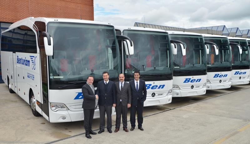 18 adet Travego S aldı otobüs sayısını 54'e çıkardı