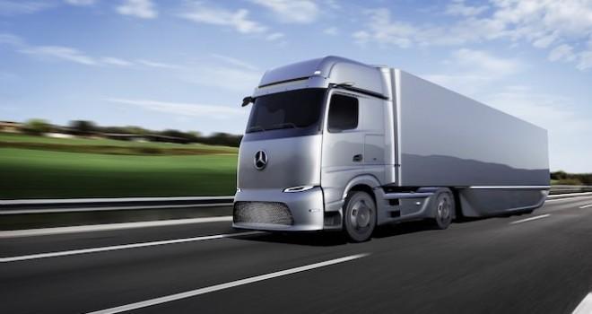 Daimler Trucks, Mercedes-Benz'in yakıt hücreli kamyon konseptinin dünya lansmanını gerçekleştirdi