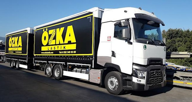 Özka Lastik'e 10 adet Renault Trucks T520 yüksek kabin