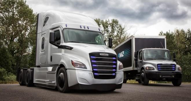 Daimler'den Amerika pazarı için 2 elektrikli kamyon