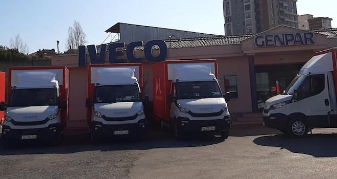 IVECO Genpar'dan 5 adet Daily Hi Matic teslimatı