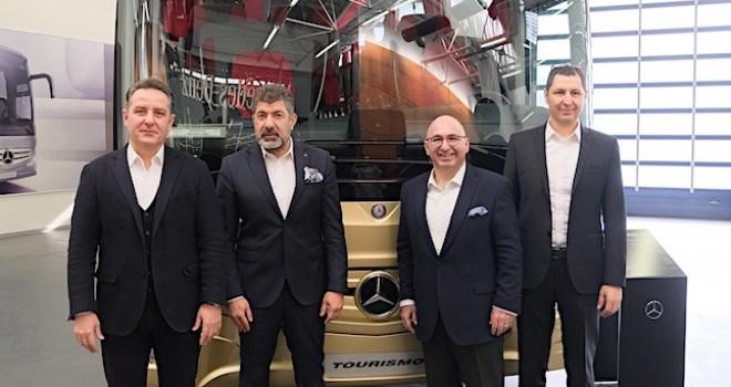 Mercedes-Benz Türk geçen yıl yurtiçinde 223 adet otobüs sattı