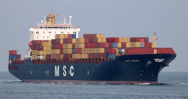 MSC'den Tekirdağ ile Kuzey Avrupa ve İngiltere'yi birbirine bağlayan yeni servis