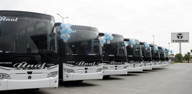 Adıyaman Ünal Turizm, 8 adet 2+1 Maraton VIP otobüs aldı