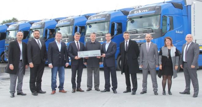 BKM Lojistik, filosunu 30 adet Volvo Trucks FH 540 çekici ile güçlendirdi