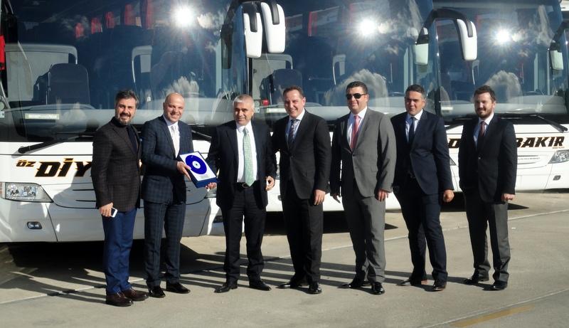 62 adetlik filosunun tamamı Mercedes-Benz otobüslerden oluşuyor