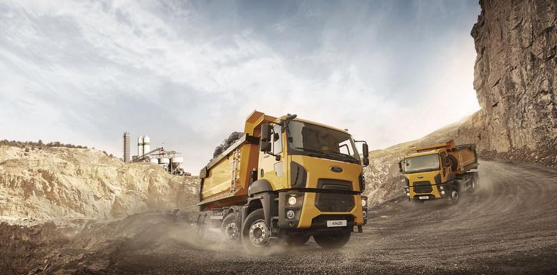 Afrika'da stadyum inşaatı için filosuna 11 adet Ford Trucks aldı