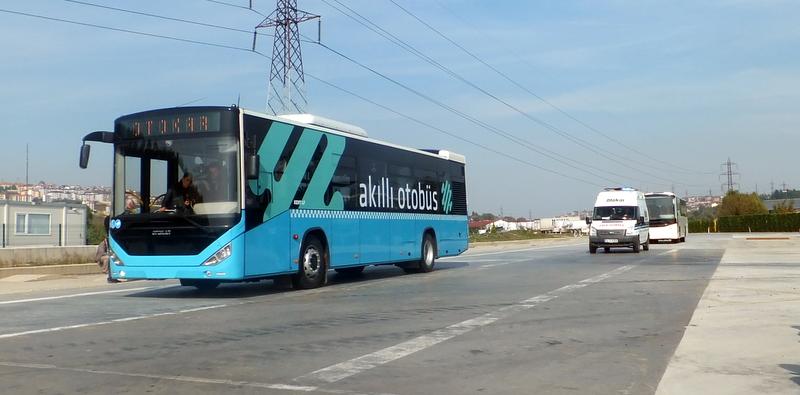 Akıllı otobüslerle yollar daha güvenli hale gelecek!