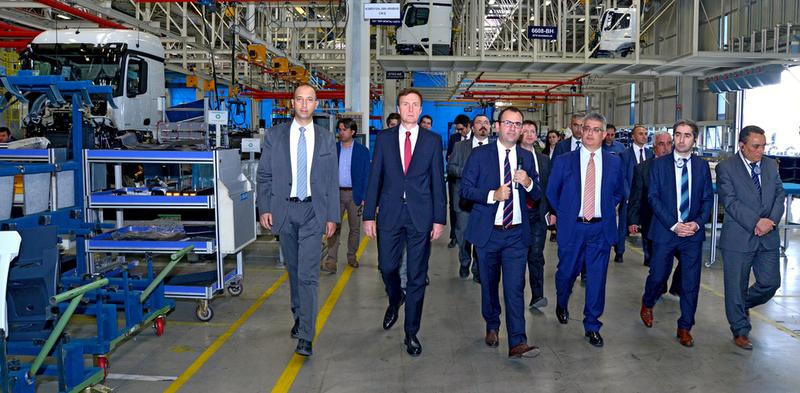 Aksaray Kamyon Fabrikası Yeni Atık Yönetimi Merkezi Açıldı