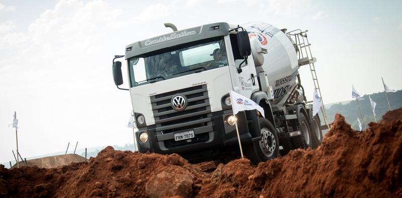 Allison şanzıman donanımlı yeni mikser kamyonu Brezilya'da tanıtıldı