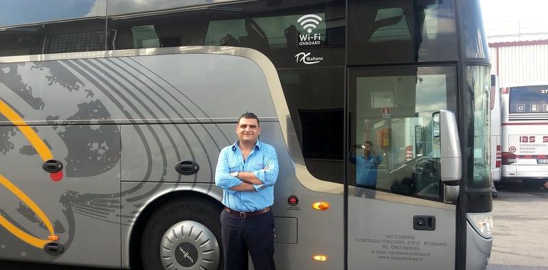 Allison tam otomatik şanzıman donanımlı ilk Van Hool TX Altano otobüsünü İtalya'da teslim etti