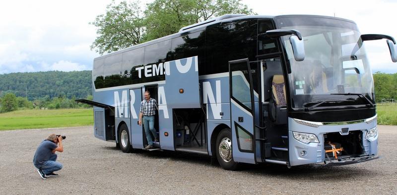 Alman otobüs sektörü Maraton'u çok beğendi