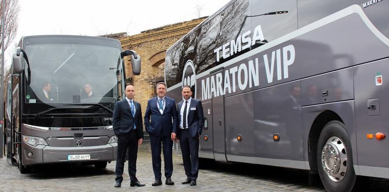 Almanya'da araç sayısını 800'e çıkartan Temsa, Bundesliga'da sponsorluk planlıyor