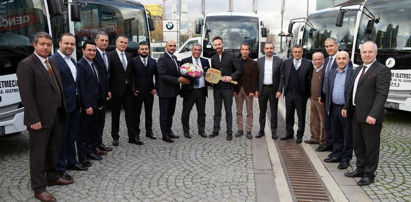 Anadolu Isuzu 4 ile 25 adet otobüs teslim etti