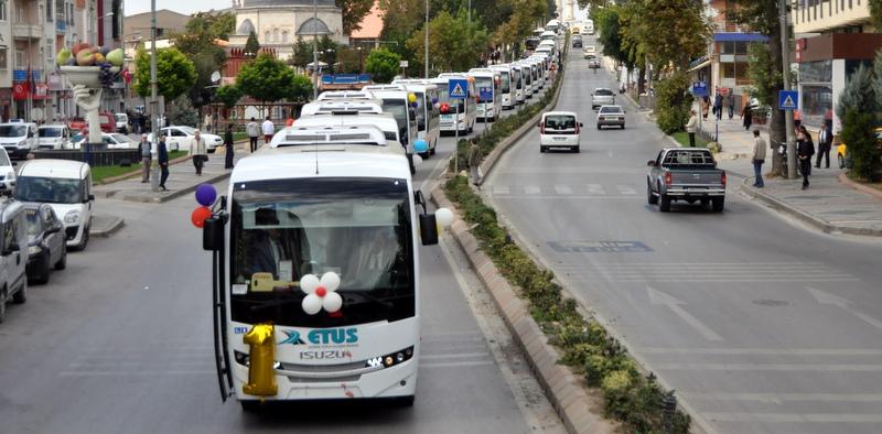 Anadolu Isuzu, Edirne'ye 50 adet Novociti teslim etti