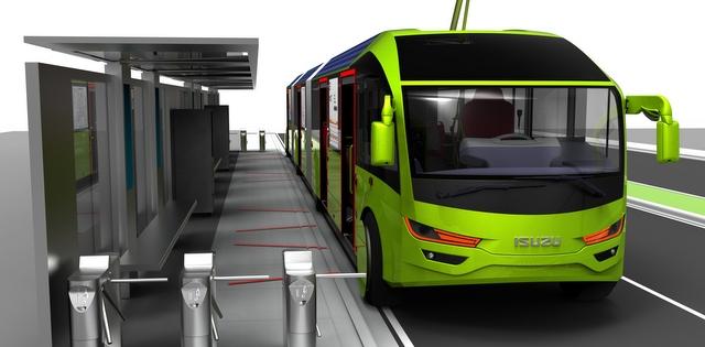 Anadolu Isuzu elektrikli toplu taşıma aracı projesini tanıttı