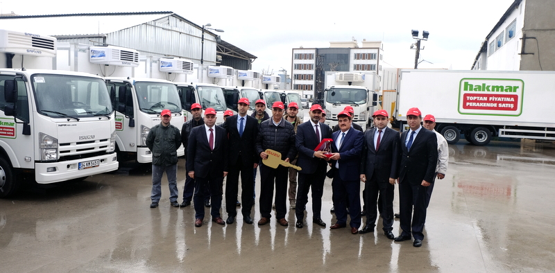 Anadolu Isuzu, Hakmar'a 38 adet Tora ve NPR kamyon teslim etti