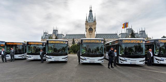 Romanya'ya 88 adet otobüs teslim etti
