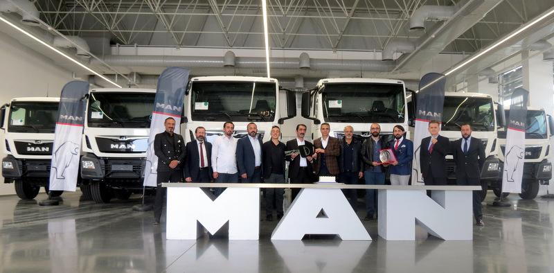 Ankaralı Fernas Şirketler Grubu filosunu 30 adet MAN kamyonla güçlendirdi