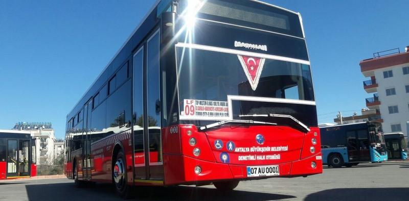 Antalya ulaşımında 100 adet TEMSA Avenue