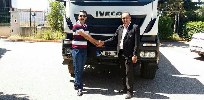 Antalyalı mermerci CGM, tercihini  Iveco Trakker'dan yana kullandı