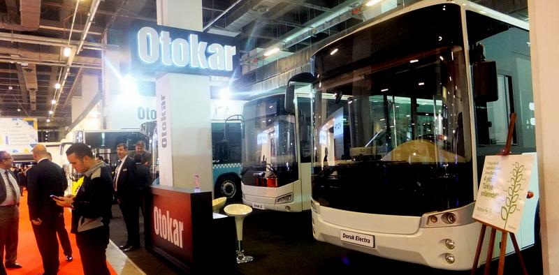 Ar-Ge'ye 10 yılda 310 milyon TL yatırım yapan Otokar 5 aracıyla Transist'e katıldı