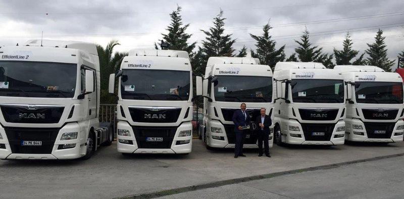 Ares International Transport 5 adet MAN TGX çekici aldı