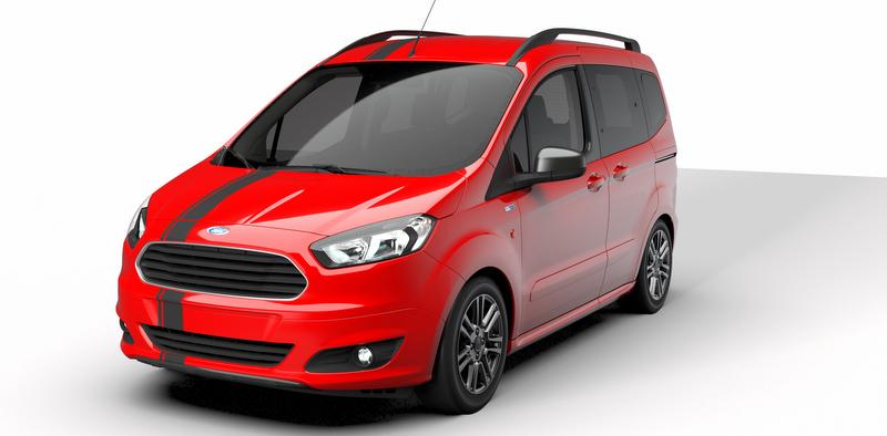 Artık Türkiye'de... Yeni Ford Tourneo Courier Blackline serisinin fiyatı belli oldu